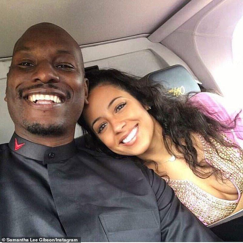 泰勒斯吉布森(左)與妻子莎曼珊李(右)證實離婚。圖/摘自IG