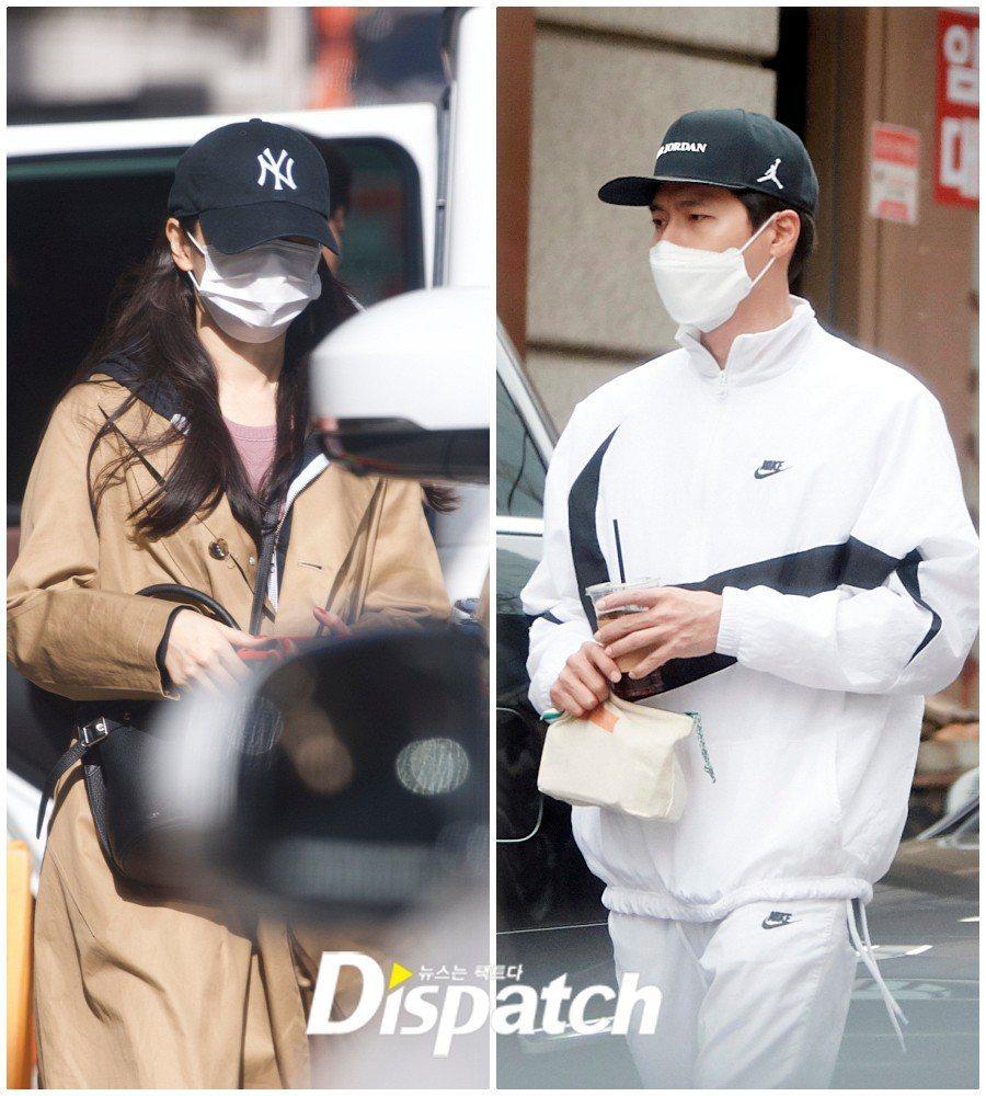 韓媒「Dispatch」爆玄彬、孫藝珍已戀愛8個月。圖/擷自Dispatch