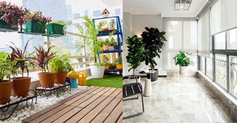 陽台裡不同的區域對裝飾材料的需求也各不相同,必須仔細探究。圖/台灣廣廈有聲圖書有...