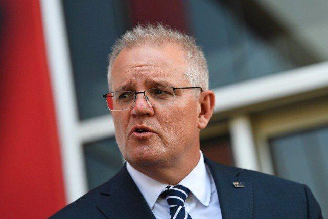 澳洲總理莫里森。(歐新社)