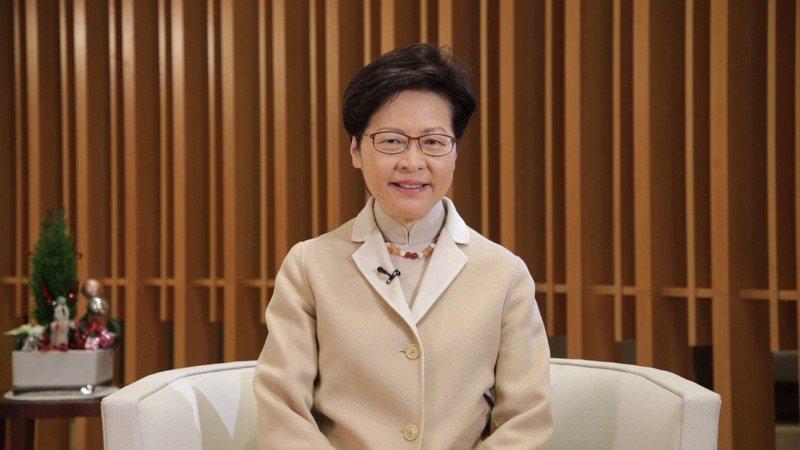 香港特首林鄭月娥。中新社