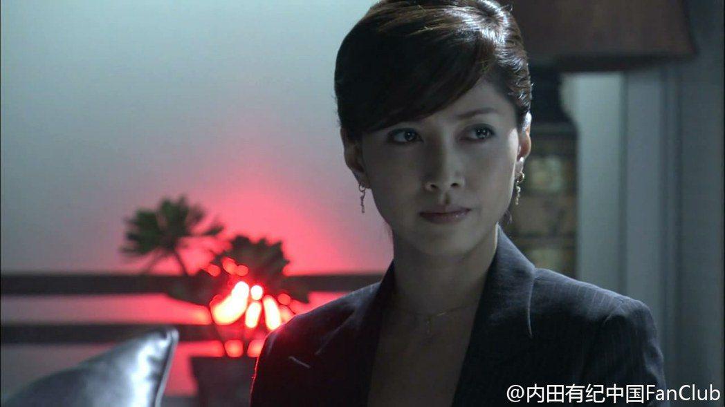 內田有紀在《醫龍2》中御姊味十足。圖/擷自微博