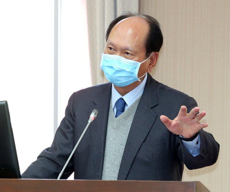 工程會主委吳澤成。報系資料照片