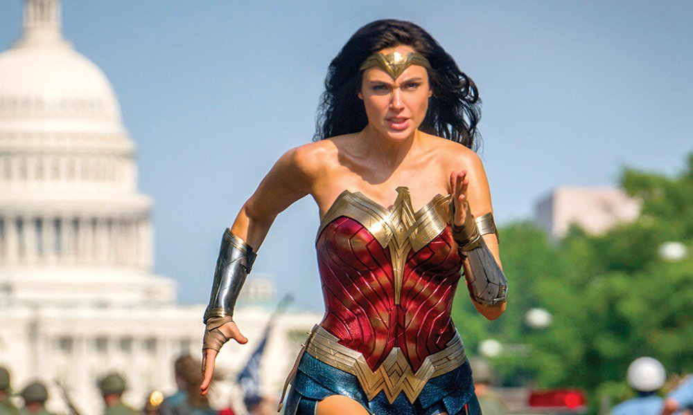 「神力女超人1984」在美國創下新冠肺炎疫情期間最佳新片首周末票房。圖/摘自im...