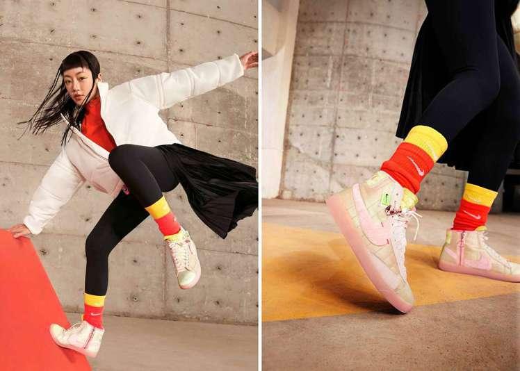 新年系列中包含運動生活系列的連帽上衣以及外套,鞋款則包含Nike Air Max...