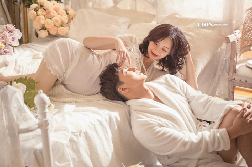 楊奇煜與辣妻迎接新生命,夫妻恩愛溢於言表。圖/摘自小煜臉