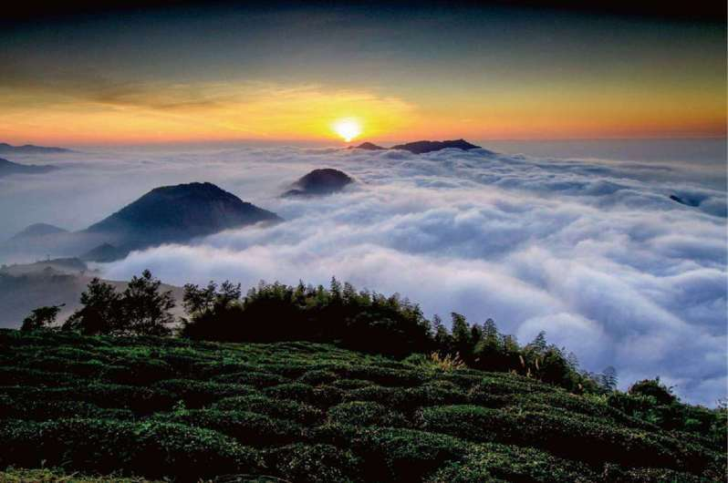 雲林縣擁有豐富地景,山海和平地各有特色。圖/雲林縣府提供