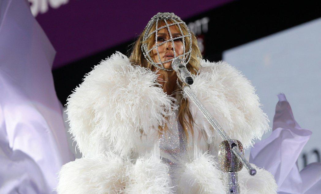 珍妮佛洛佩茲是紐約跨年表演的最大焦點。(路透)