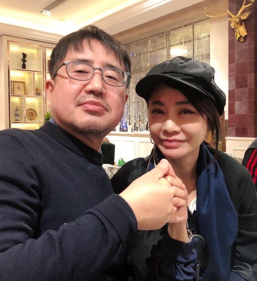 柴智屏(右)與韓國整型醫生兼編劇崔錫珉將合作。圖/柴智屏提供