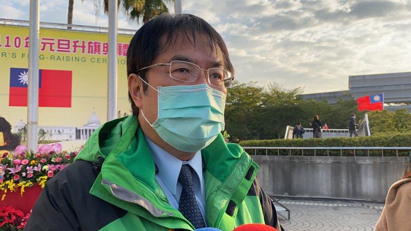 台南市長黃偉哲表示,農曆年將至,預期有大批返鄉潮,台南已啟動防疫旅館能量調配因應措施。記者鄭維真/攝影