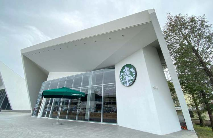 嘉義世賢門市。圖/擷取自 Starbucks Partners Taiwan