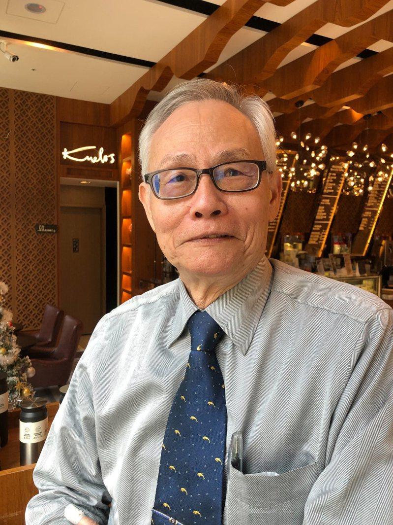 台塑越鋼董事長陳源成。記者林政鋒/攝影