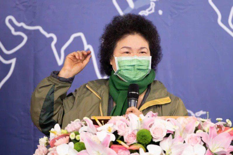 陳菊在受監委約詢時表示,沒收到陳情信。 本報資料照