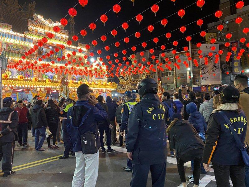 零聚眾鬥毆,警民合作下,台南永康大灣廣護宮建醮落幕立典範。記者謝進盛/翻攝