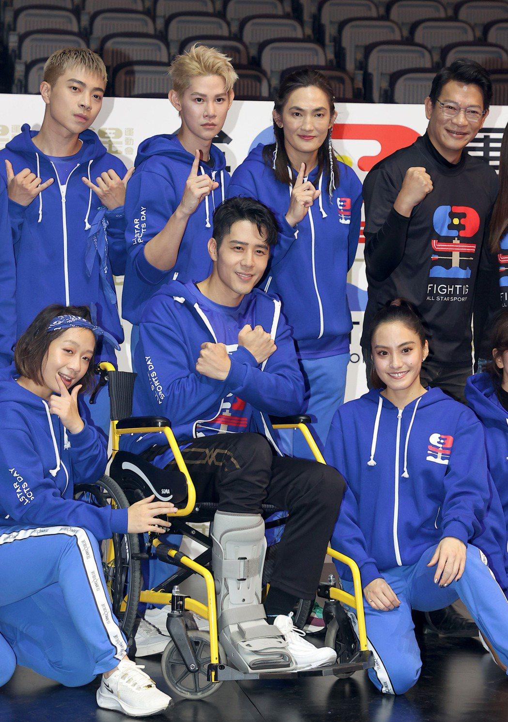 胡宇威是藍隊的精神領袖。記者余承翰/攝影