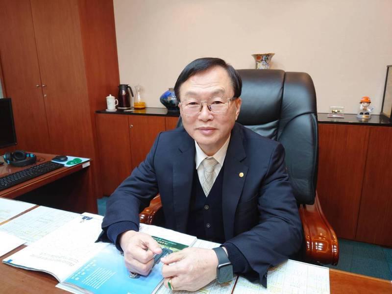 長榮鋼鐵董事長林耿立。記者黃淑惠/攝影