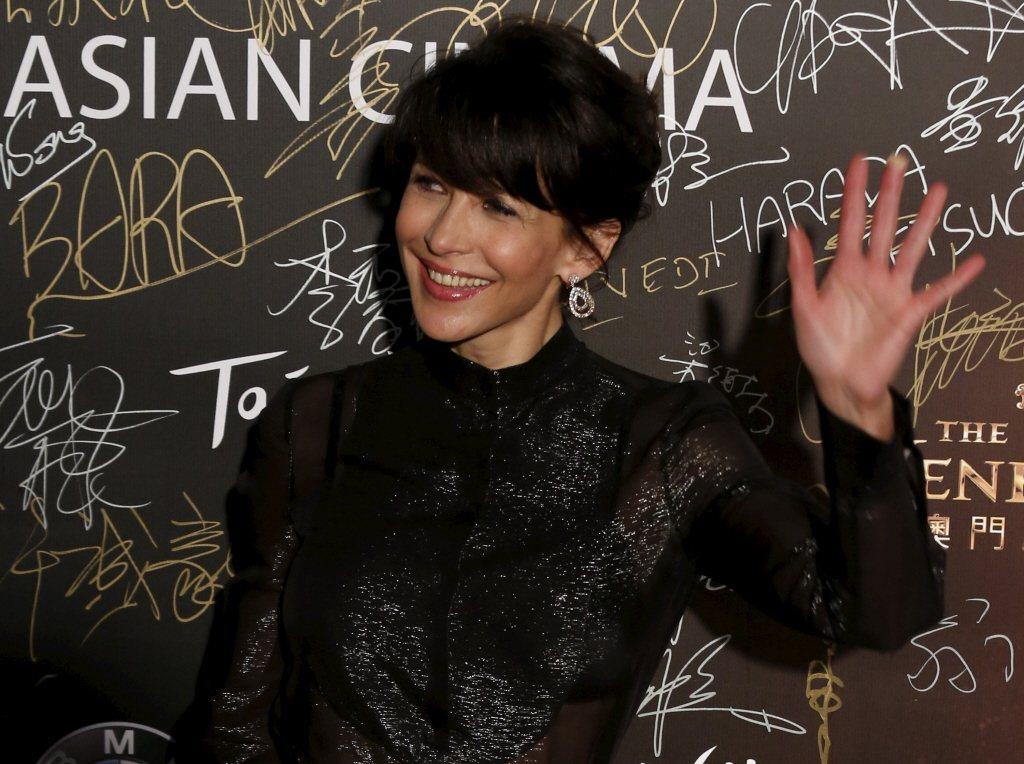 蘇菲瑪索連續第2年成為最受法國人歡迎的女性名人。圖/路透資料照片