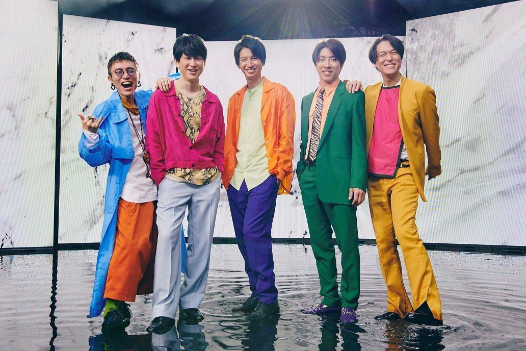 關8成員橫山裕(左二)確診新冠肺炎。 圖/擷自推特
