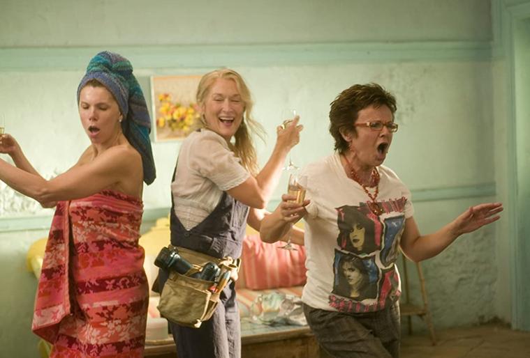 電影《媽媽咪呀!》。圖/取自IMDB