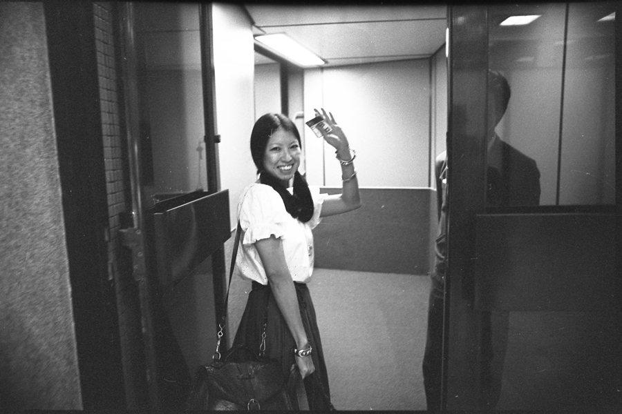 今(1月4日)是作家三毛逝世30週年的日子。圖為三毛赴西班牙,攝於1980年。 圖/聯合報系資料照