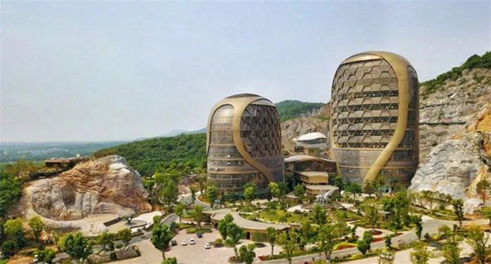 江蘇南京蜂巢酒店。圖擷自建築暢言網