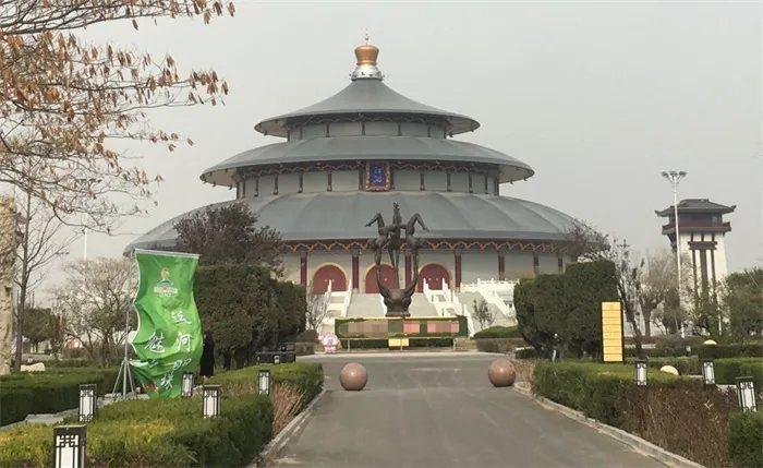 河北滄州吳橋國際雜技大劇院。圖擷自建築暢言網