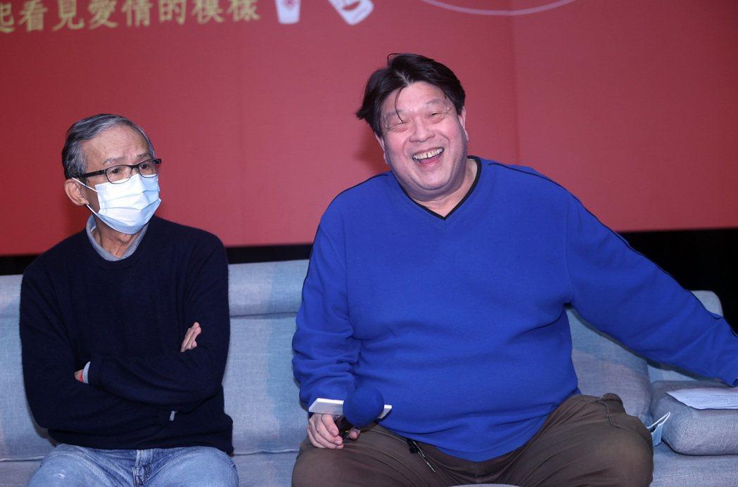 綠光劇團浪漫音樂劇「結婚!結昏?辦桌」4日在台北舉辦舞者甄選記者會,編導羅北安(...