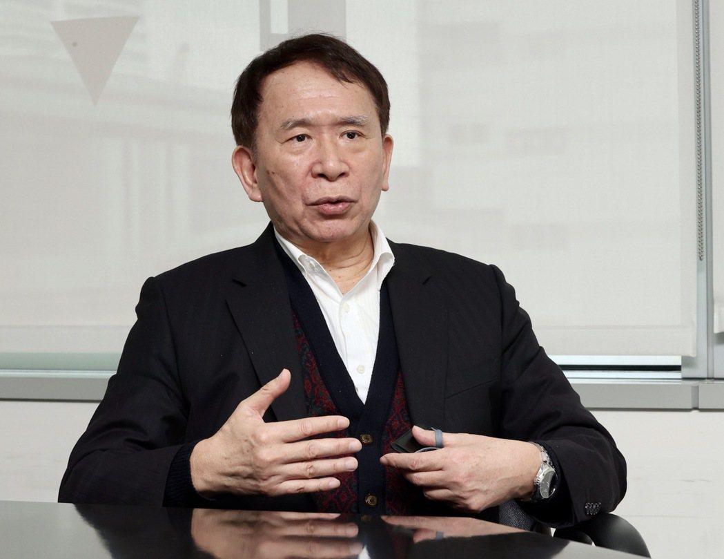 晟德集團董事長林榮錦。記者黃義書/攝影