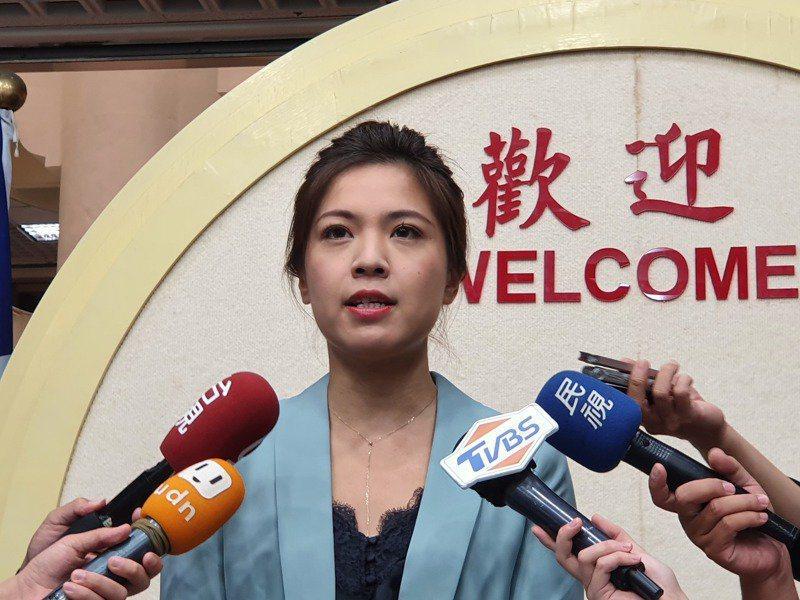 台北市議員鍾沛君。本報資料照片