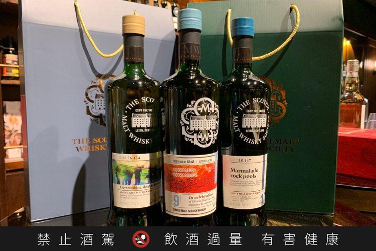 SMWS蘇格蘭麥芽威士忌協會推出新春超值福袋。圖/華揚國際提供。提醒您:禁止酒駕...
