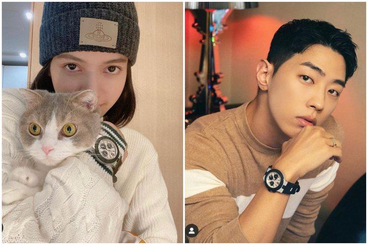 韓國女子天團BLACKPINK的Lisa與饒舌歌手Gray在IG發布配戴寶格麗A...
