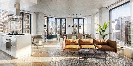 尚芮公寓SERIF示意圖。業者提供