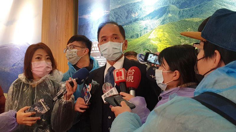 針對立院遷建問題,立法院長游錫堃今表示,若要搬遷,他認為遷都比較好。記者胡瑞玲/攝影