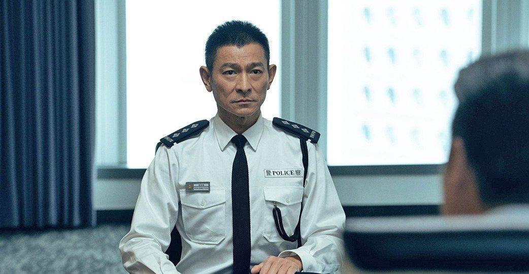 劉德華是「拆彈專家2」靈魂人物,劇情發展以他為核心。圖/華映提供