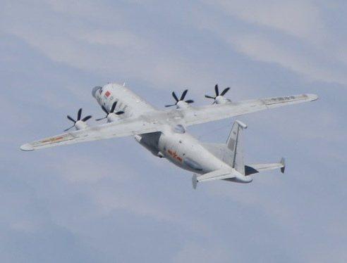 共軍運八技術偵機(同型機)。圖/國防部提供