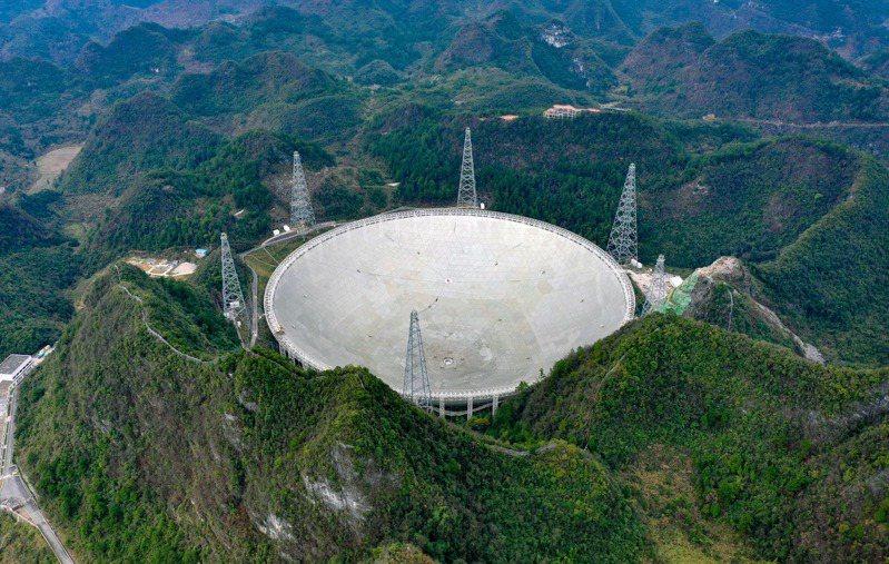 「中國天眼」將於4月1日正式對全球科學界開放。(新華社)