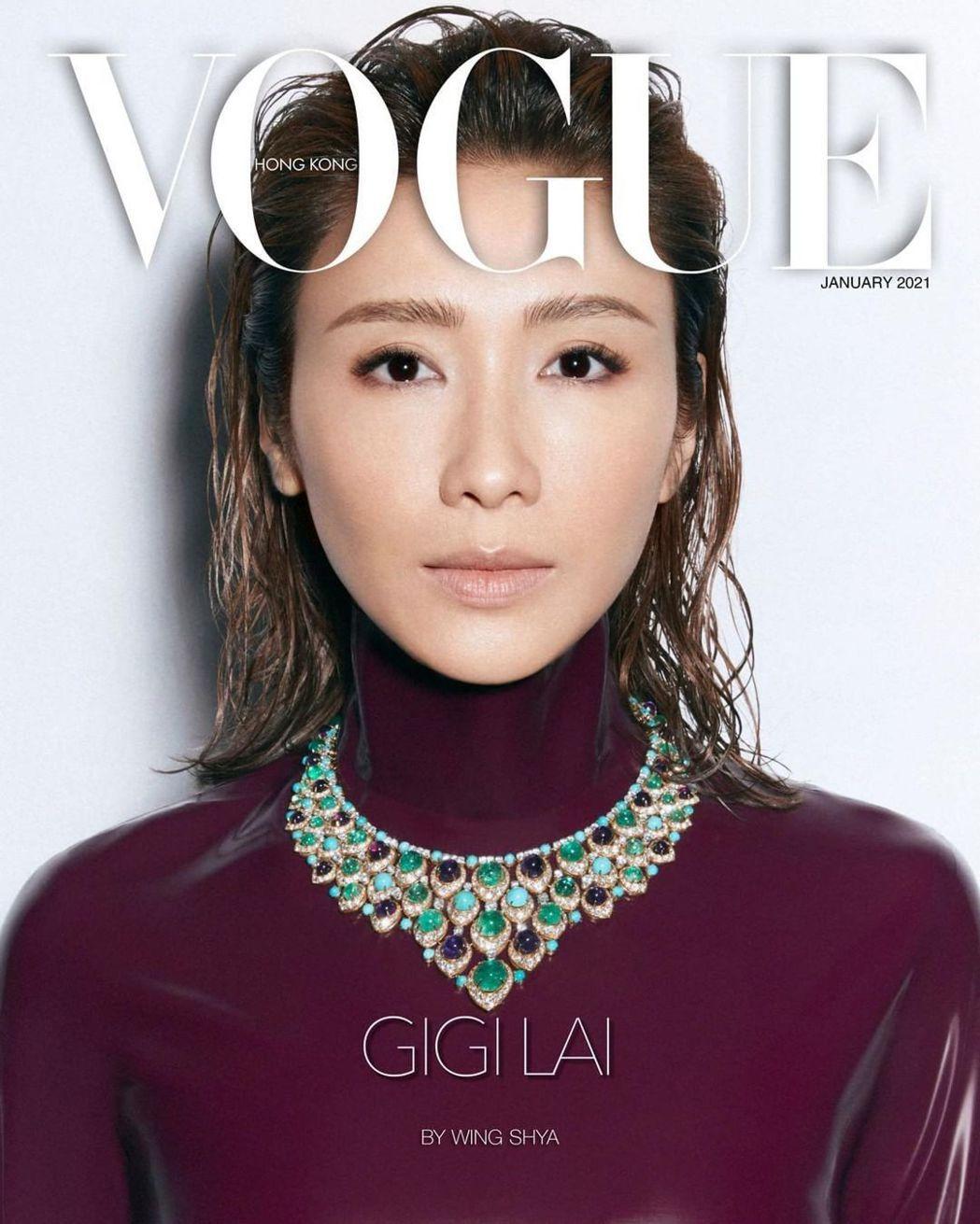 黎姿睽違已久登上時尚雜誌封面。 圖/擷自黎姿IG