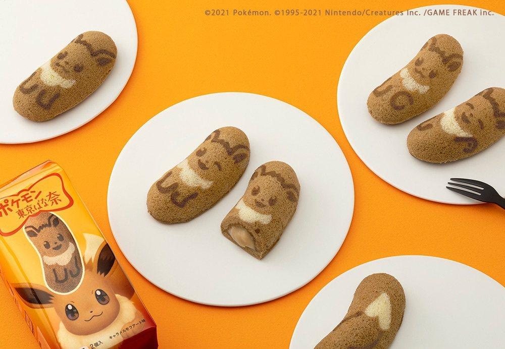 怎麼可以吃伊布!伊布這麼可愛ΩДΩ|伊布東京Banana 商品宣傳圖(下略)