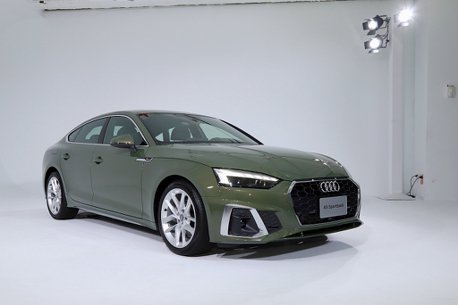 美型四門轎跑再進化!小改款Audi A5 Sportback台灣實車亮相