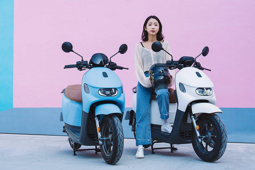 清新圓潤外型的宏佳騰Ai-3車系,吸引不少消費者的目光。 圖/宏佳騰提供