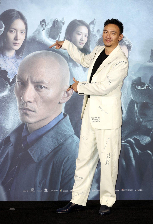 電影「緝魂」預告發布會,男主角張震出席。記者曾吉松/攝影