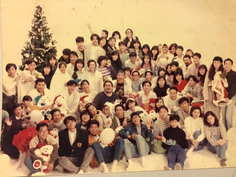 1987滾石「親熱關係」跨年演唱會大合照。圖/張培仁提供