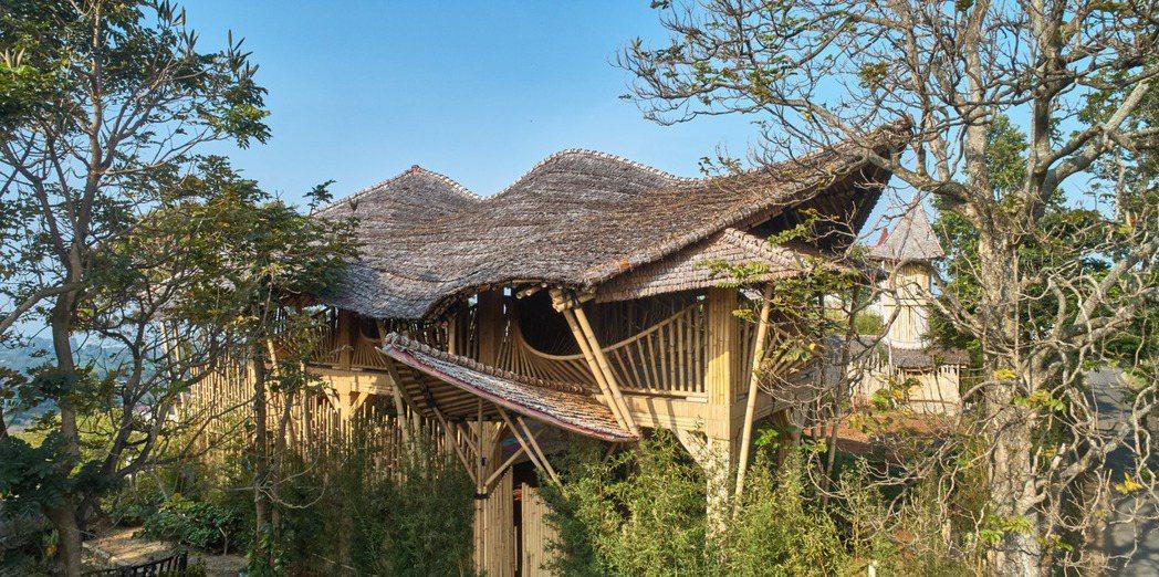 竹子與相關的手工藝,是印尼當地重要的文化。圖/取自Ralrich Archite...