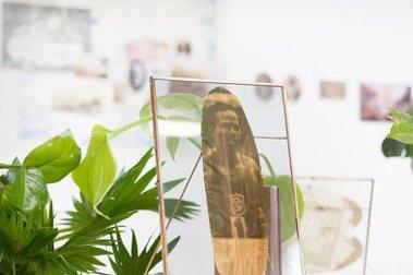 植物葉片印上歷史人物與圖像 英國藝術家Almudena Romero探索的殖民文化