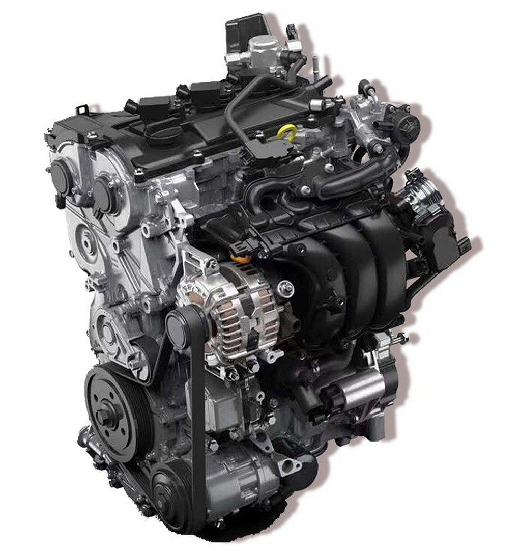 代號M15A-FKS、排氣量1,490c.c.的直列三缸汽油引擎,可輸出120p...