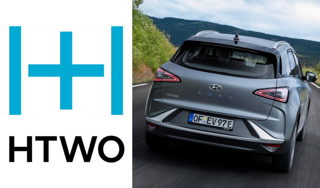 Hyundai在2020年12月正式成立氫燃料子品牌「HTWO」。 摘自Hyun...