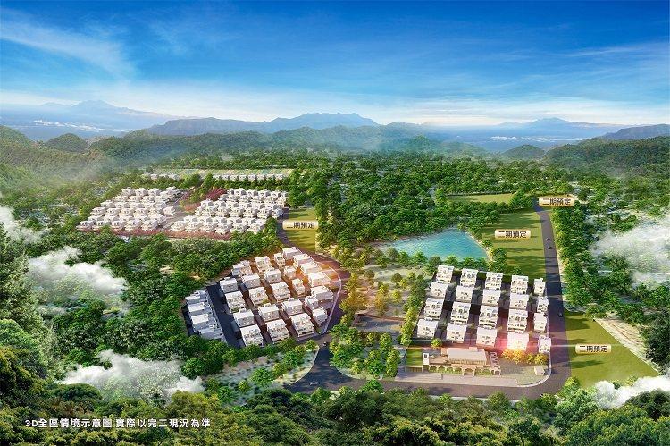 「雅典大地」以造鎮式規模打造美式社區環境。