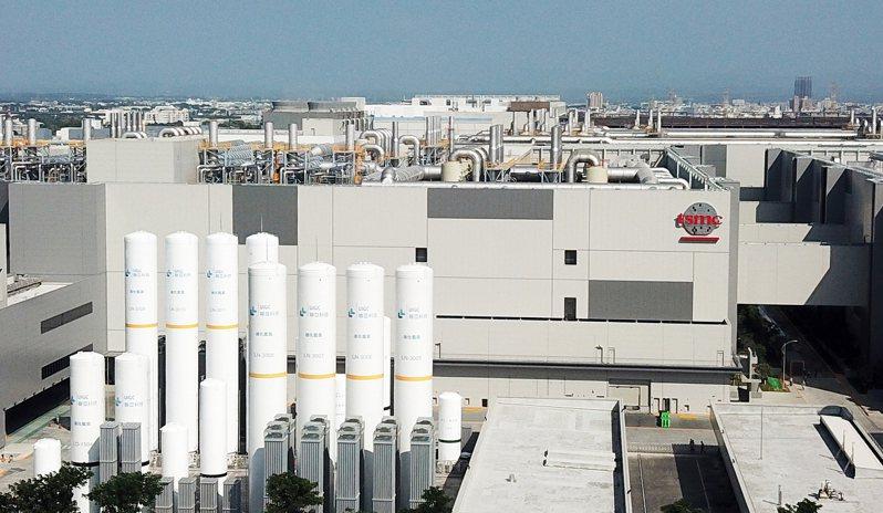 台積電將與日本經濟產業省成立合資公司,在東京設立先進封測廠。圖為南科台積電的樹谷廠區。 本報資料照片