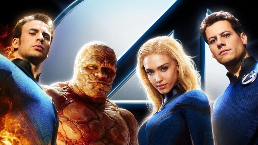 驚奇4超人中的「霹靂火」強尼(左一),本來將是「英雄內戰」電影中引爆衝突的關鍵人