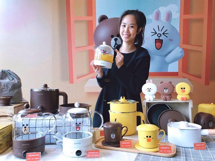 全聯福利中心攜手九陽與LINE FRIENDS推出一系列超萌廚電,可愛又實用,輕...